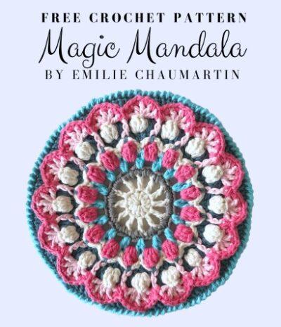 Free Crochet Pattern Magic Mandala