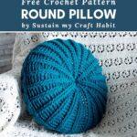 Free Crochet Pattern Round Pillow