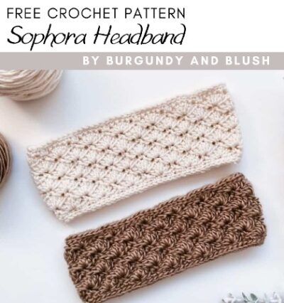 Free Crochet Pattern Sophora Headband